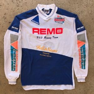 Answer Racing Vintage 1980s Moto Dirt Bike Jersey